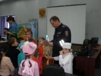 Выступление в рамках акции ГИБДД